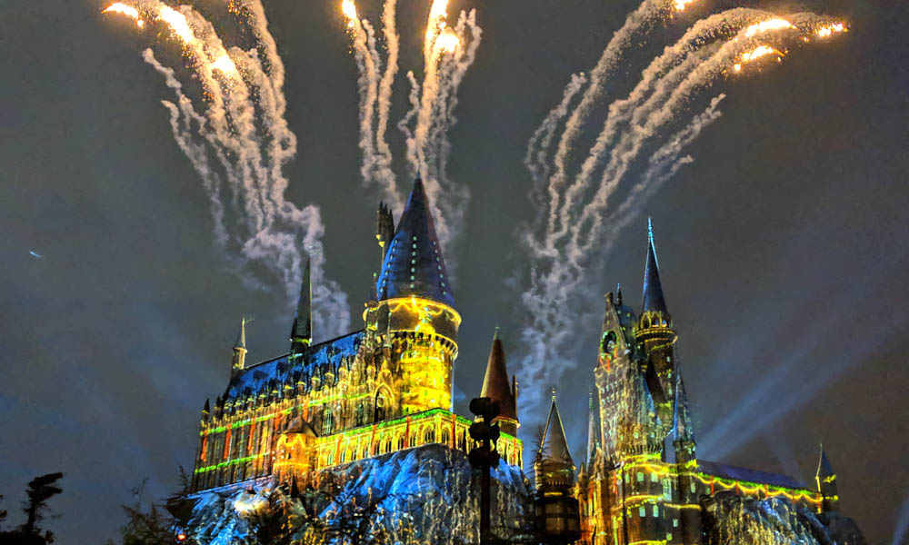 A very Potter Thanksgiving Fireworks