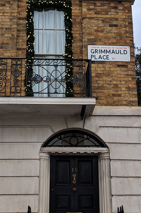 A very Potter Thanksgiving Grimmauld Place