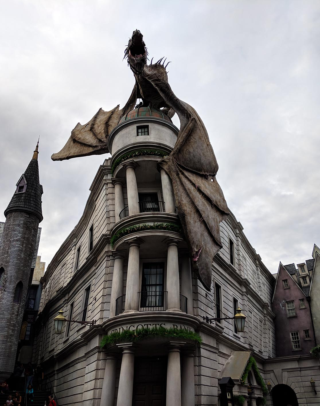 A very Potter Thanksgiving Gringotts Dragon