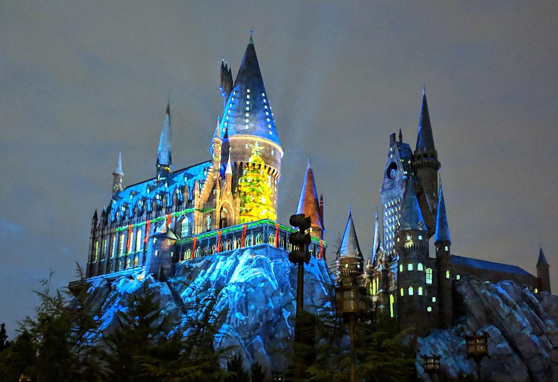 A very Potter Thanksgiving Hogwarts Christmas Lights
