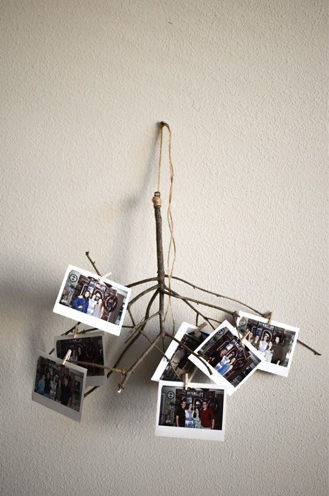 First Finished DIY Picture Hanger