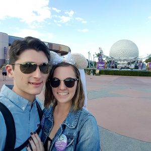 Happily ever after Epcot Engagement Trip