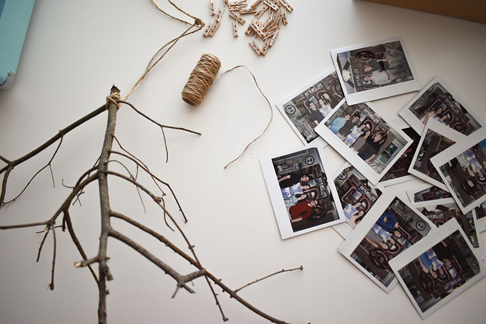 DIY Picture Hanger Materials