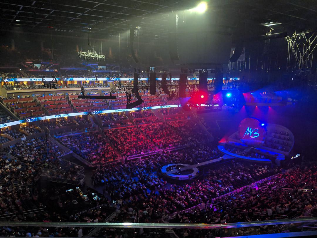 Michael Buble Concert View 2
