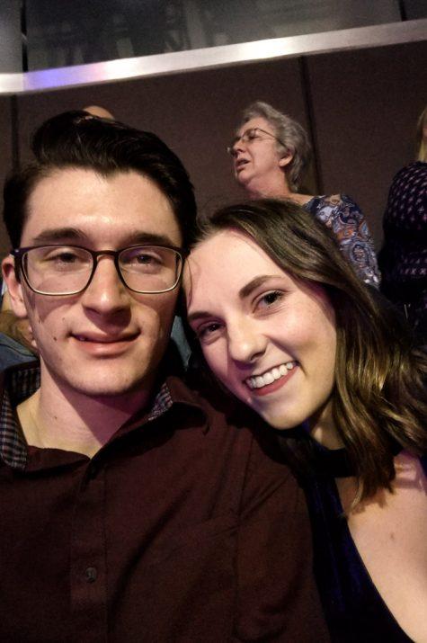 Alex and Cait at Michael Buble Concert