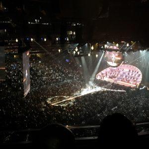 Michael Buble Concert View