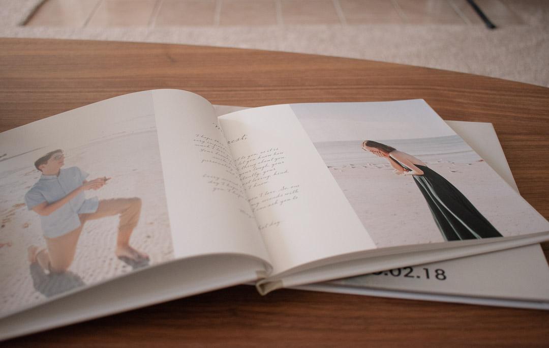 Photo Album on Living Room Table