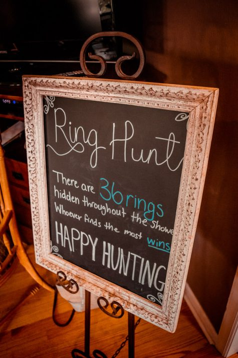 Wedding Shower Ring Hunt