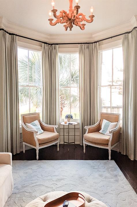 one-year anniversary suite: bay window