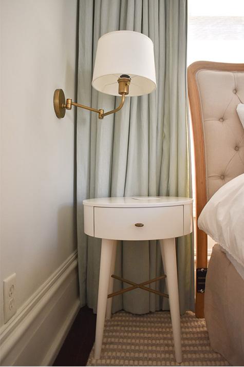 one-year anniversary suite: nightstand