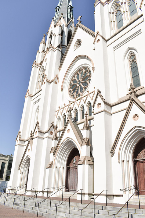 one-year anniversary day two: cathedral facade
