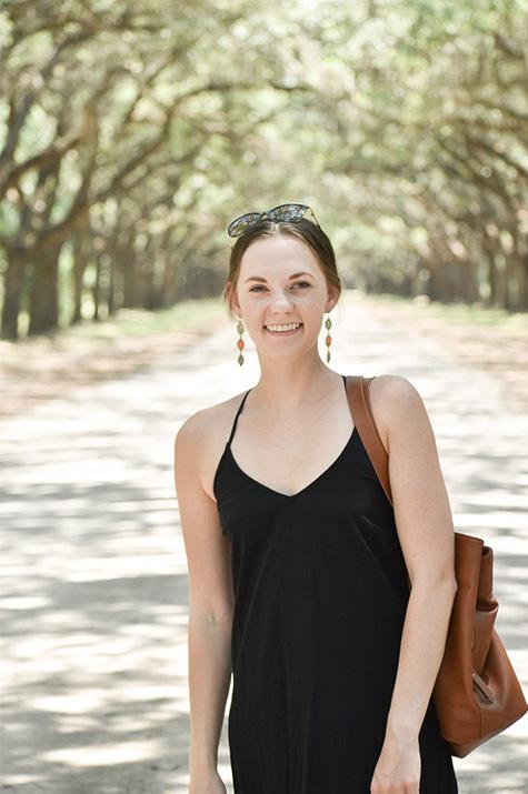 one-year anniversary Wormsloe portrait oak avenue