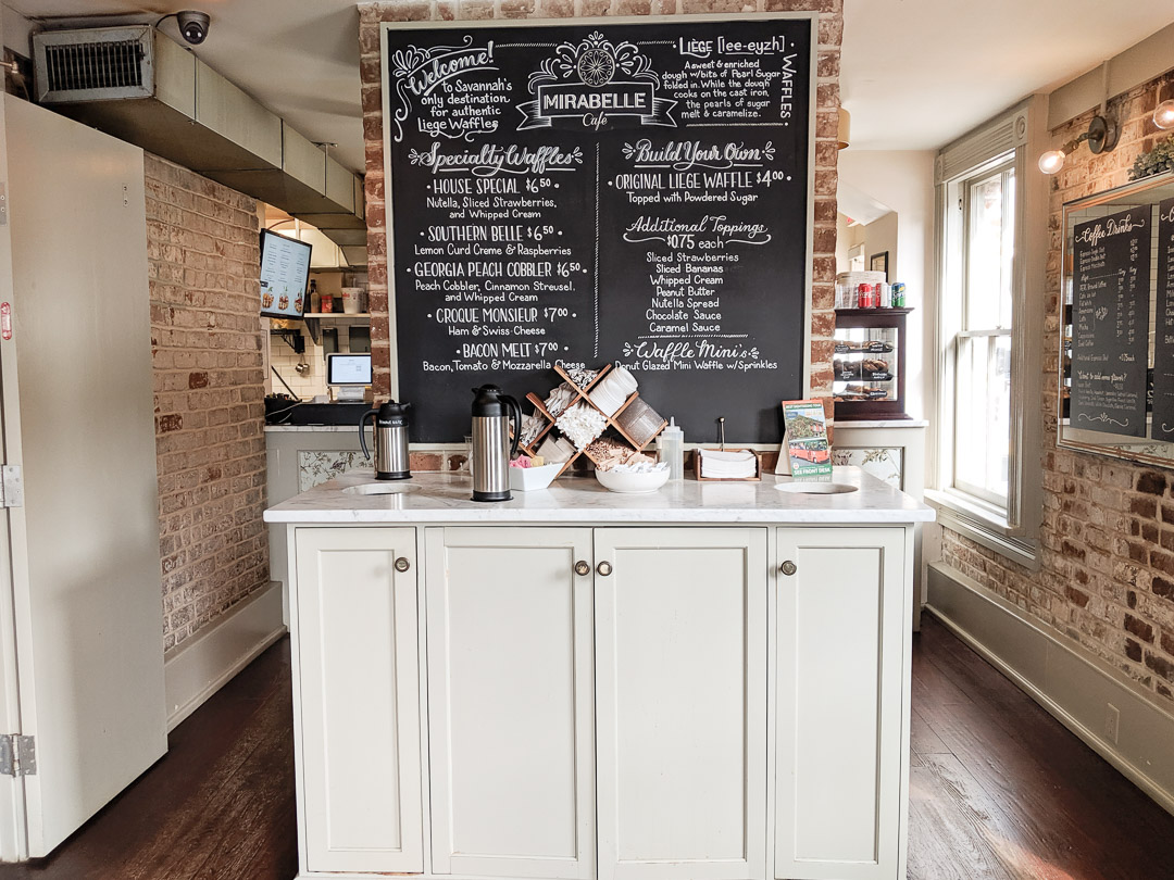 one-year anniversary breakfast: Mirabelle Cafe