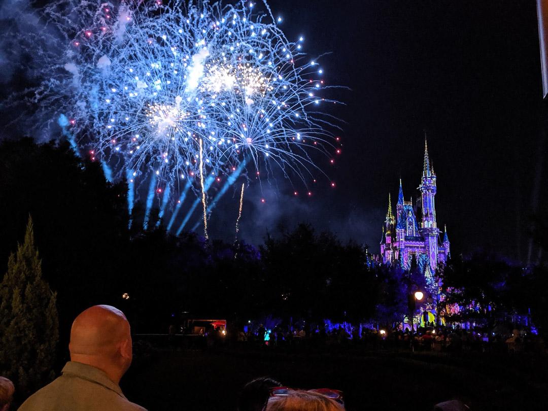 Magic Kingdom Trip Fireworks