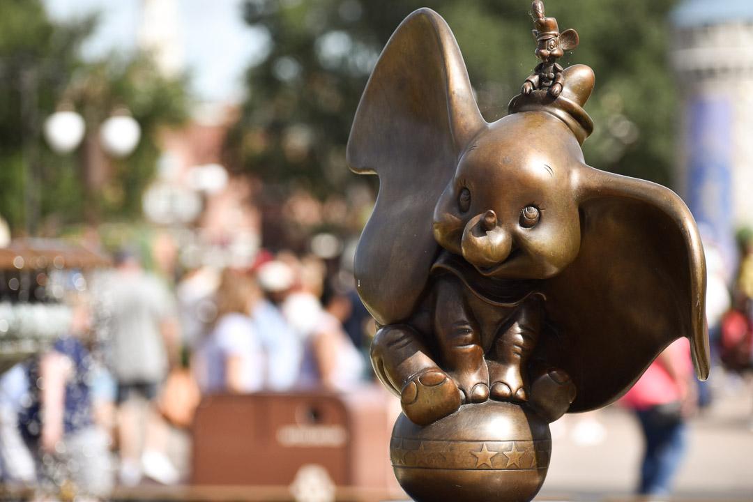 Magic Kingdom Trip Dumbo Statue